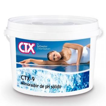 Minorador pH sólido Cloración salina CTX-09