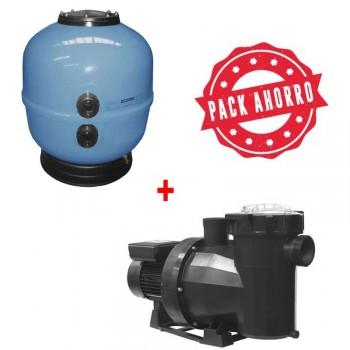Pack Filtración filtro Ice  + bomba Victoria Plus Silent