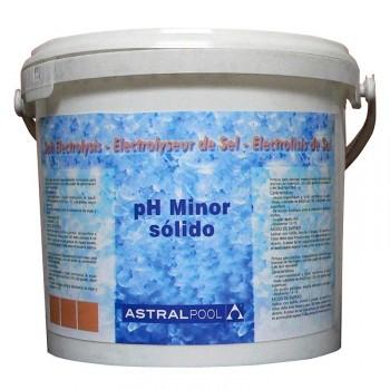 pH Minor sólido para electrólisis salina AstralPool