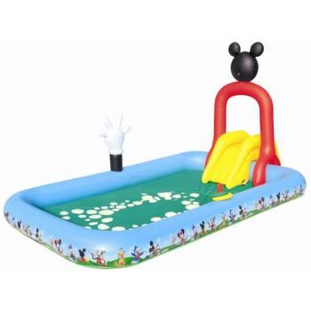 Piscina infantil Mickey con Tobogán-1