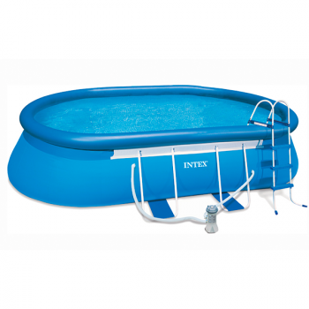 Piscina Ovalada Oval Frame Intex