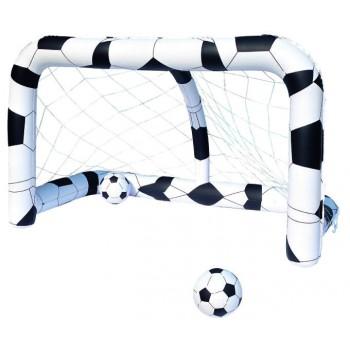 Portería de futbol inflable bestway
