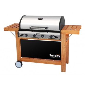 Barbacoa grill a gas Profy 4 Inox