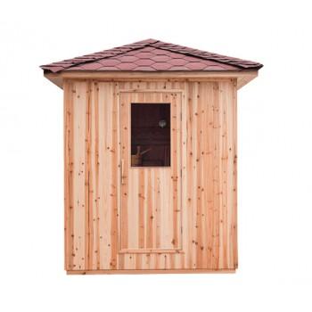 Sauna tradicional de exterior