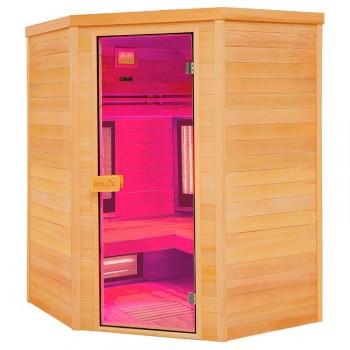 Sauna infrarrojos Multiwave 3C cromoterapia