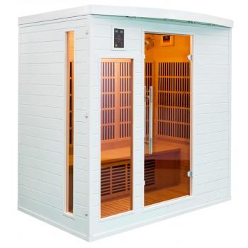 Sauna Soleil Blanc 4 Plazas