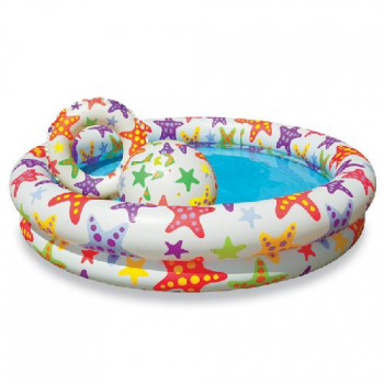 Set Piscina Infantil Intex-1