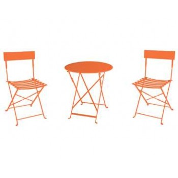 Set Tea Time de mesa y sillas plegables