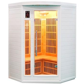 Sauna Soleil Blanc 2/3 Plazas
