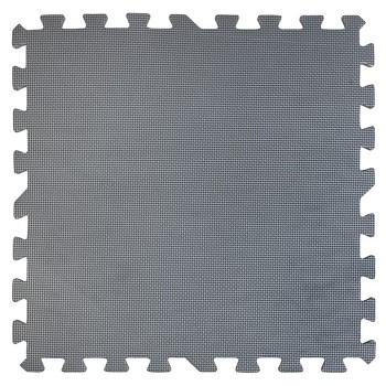 Tapiz de suelo acolchado gris Gre 50 x 50 cm