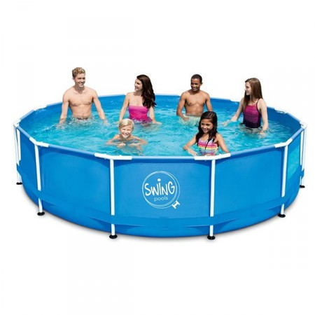 Piscina tubular desmontable Swing Ø 3,66m x 0,91m