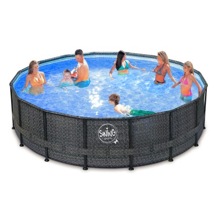 Piscina Swing Dark Elite 4,27 x 1,07m