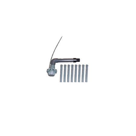 Conjunto colector filtro Millennium Ø660 Astralpool 4404010092