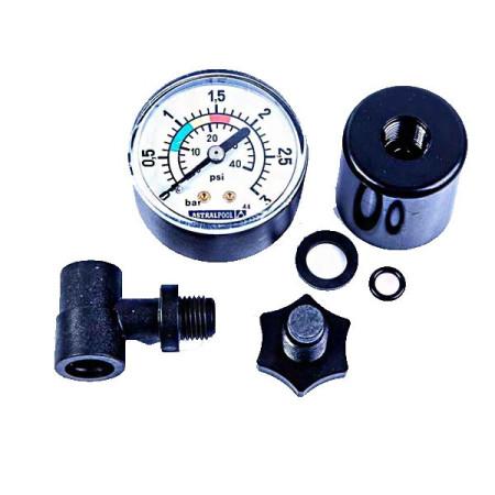 """Manómetro ⅛"""" completo filtro AstralPool 4404020101"""