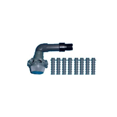 Conjunto colector filtro Millennium Ø380 Astralpool 4404300115