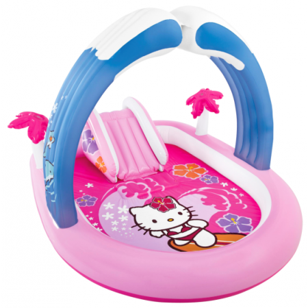 Piscina  PLay Center  Hello Kitty Intex - 57137