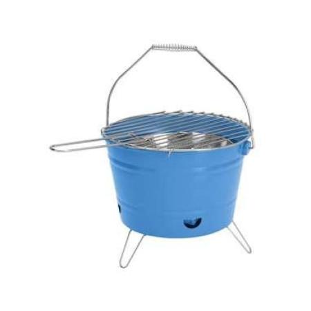 Barbacoa cubo azul