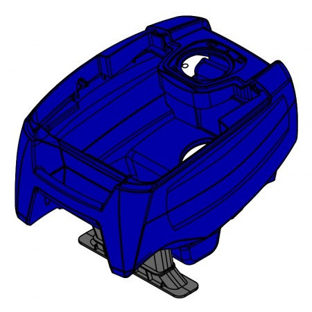 Carcasa completa Zodiac TornaX RT R0766300