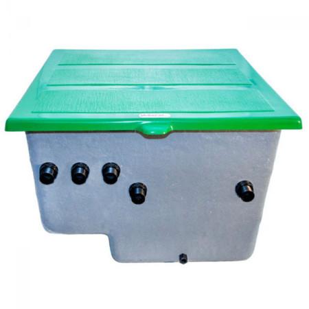 Caseta enterrada con filtro laminado de PQS