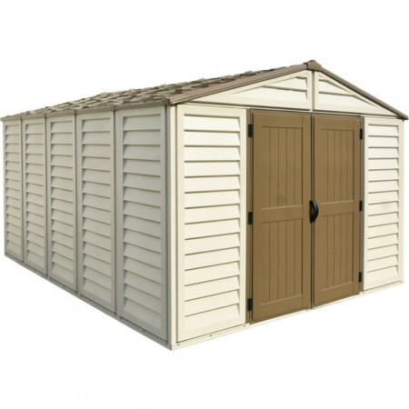 Caseta de PVC para exterior WoodBridge Plus Duramax