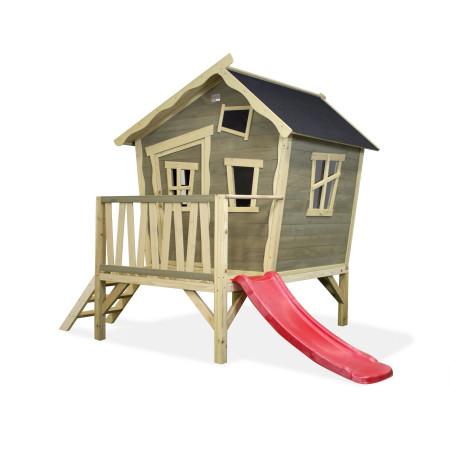 Casita de madera para niños Crooky 300