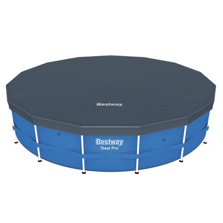 Cobertor Bestway piscina PVC circular Steel Pro