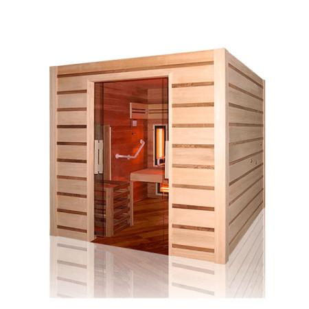 Sauna de vapor Combi de acceso fácil