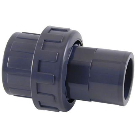 Enlace M-H 3 piezas encolar PVC