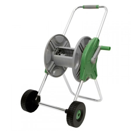 Enrollador manguera con ruedas
