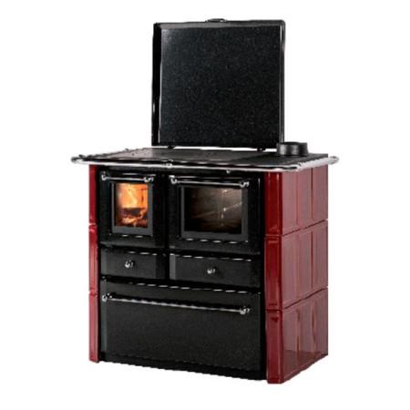 Estufa cocina y horno de leña Agnese