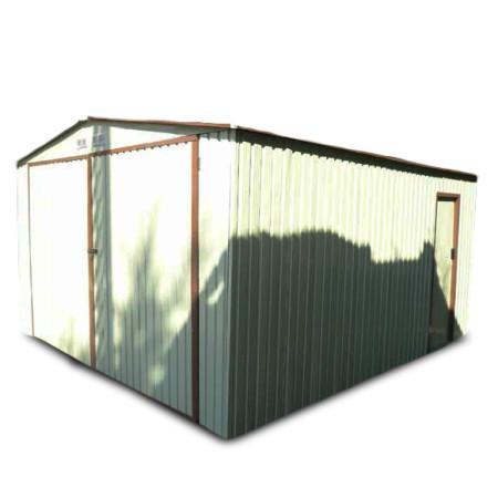 Garaje de chapa Kokido 380 x 480 x 232