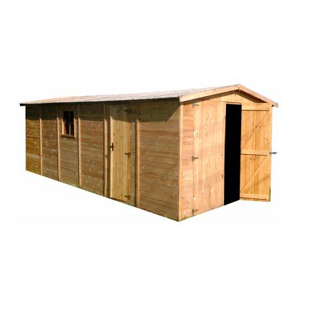 Garaje de madera 19mm 616 x 324cm