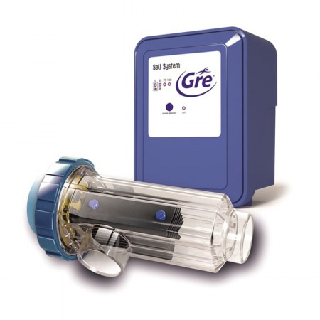 Electrólisis salina con regulador de pH de Gre