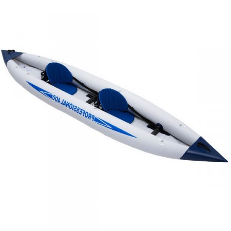 Kayak hinchable 2 personas configurable
