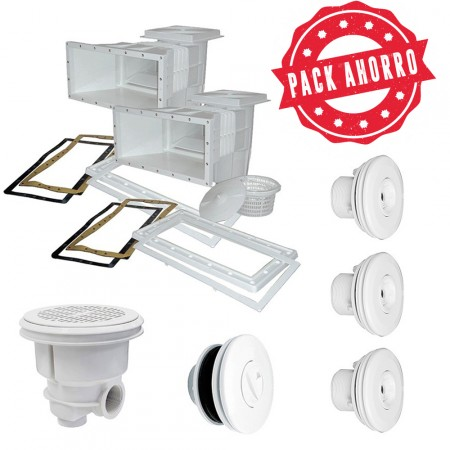 Pack ahorro para empotrar piscina de liner AstralPool