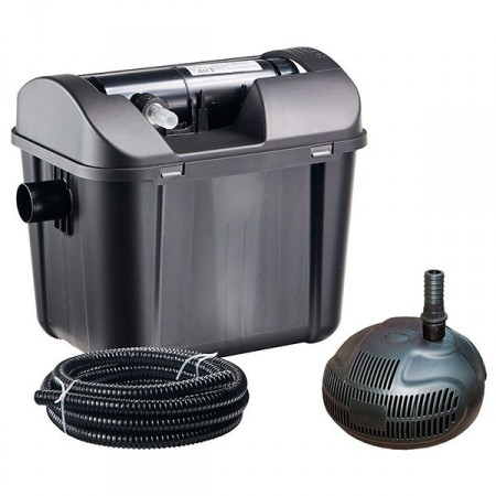 Kit filtración estanque bomba y UV heissner