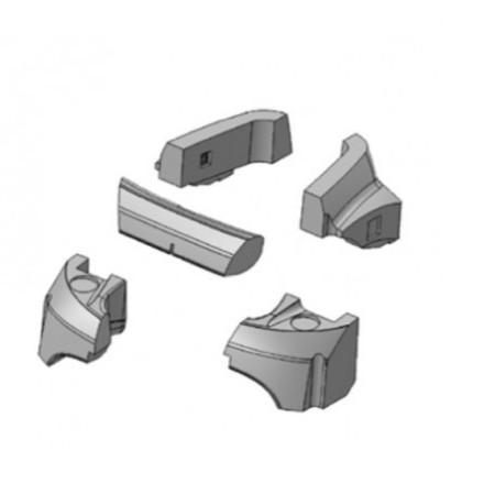 Kit flotadores robot Zodiac Vortex R0539700