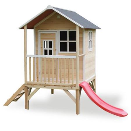 Casita para niños de madera Loft 300 Madera