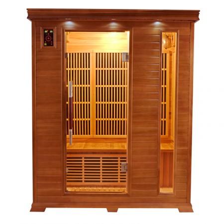 Sauna infrarrojos Luxe 3 Plazas