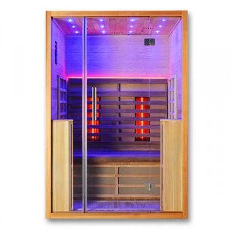 Sauna infrarrojos Pandora luz morada