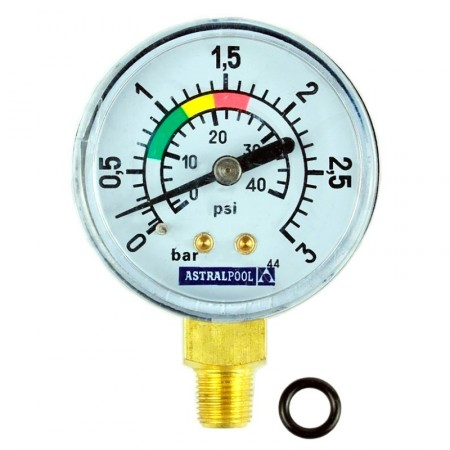 Manómetro 3kg/cm² filtros Astralpool 4404220102