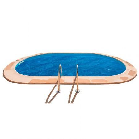 Manta térmica para piscinas enterradas Gre ovalada