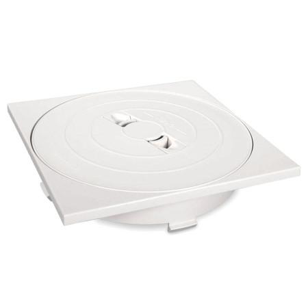 Tapa circular y marco cuadrado skimmer 17,5 L