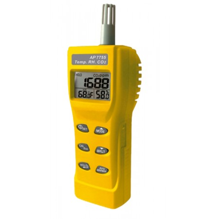 Medidor de CO2-temperatura-humedad