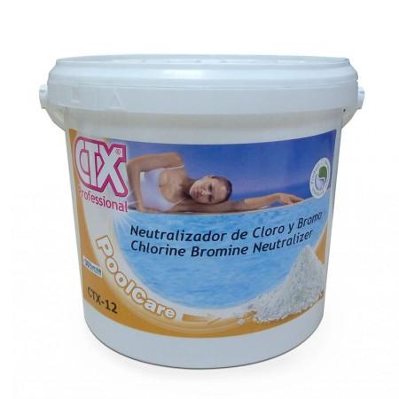 Neutralizador cloro y bromo CTX-12