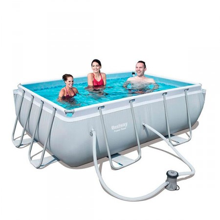 Piscina Power Steel 282x196x84cm Bestway