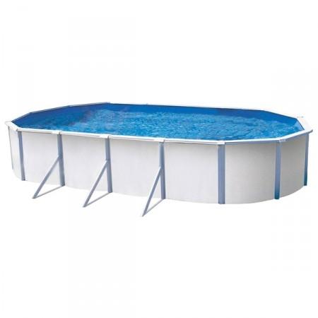 Piscina de Acero K2O Ocean Ovalada 730 x 370 x 120 cm