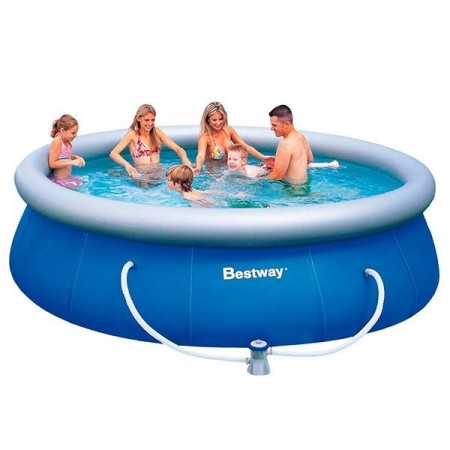 Piscina Pvc Hinchable Bestway Fast Set 366x91