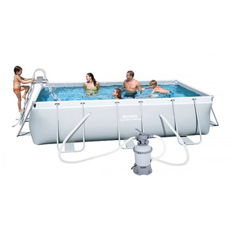Piscina Bestway Power Steel 404x201x100 arena