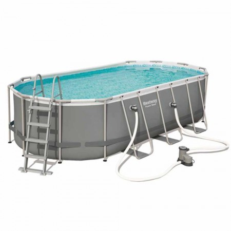 Piscina Power Steel Oval 549 x 274 x 122 cm